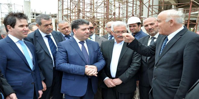 Photo of PM al-Halaqi inaugurates projects in Sweida, announces financial grant for development