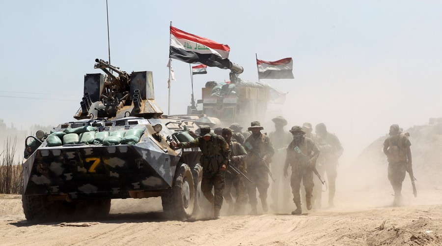 VDO: Iraqi Army Push Back ISIS Terrorist From Garma;Latest Army Advances
