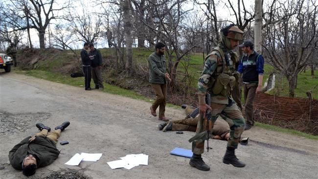 Photo of Three Indian police officers killed in disputed Kashmir