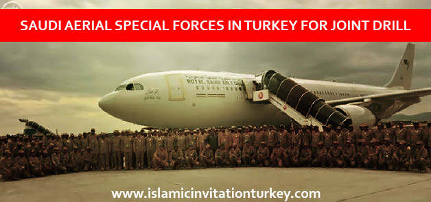 Photo of Saudi Aerial Special Forces in Turkey's Konya City