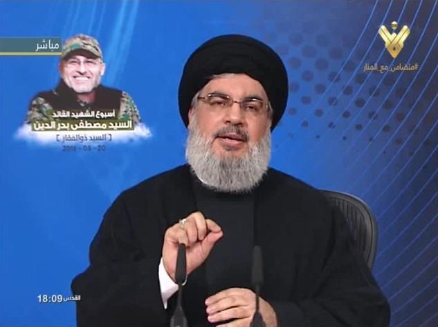 Photo of Sayyed Nasrallah: Zulfikar's Blood will Keep Us Stronger in Syria