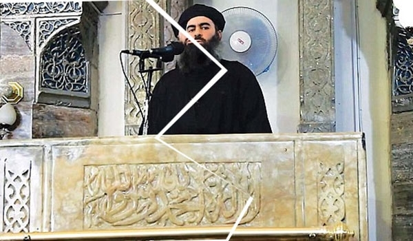 Photo of Iraq: Images of ISIL Leader Torn into Pieces in Mosul Streets