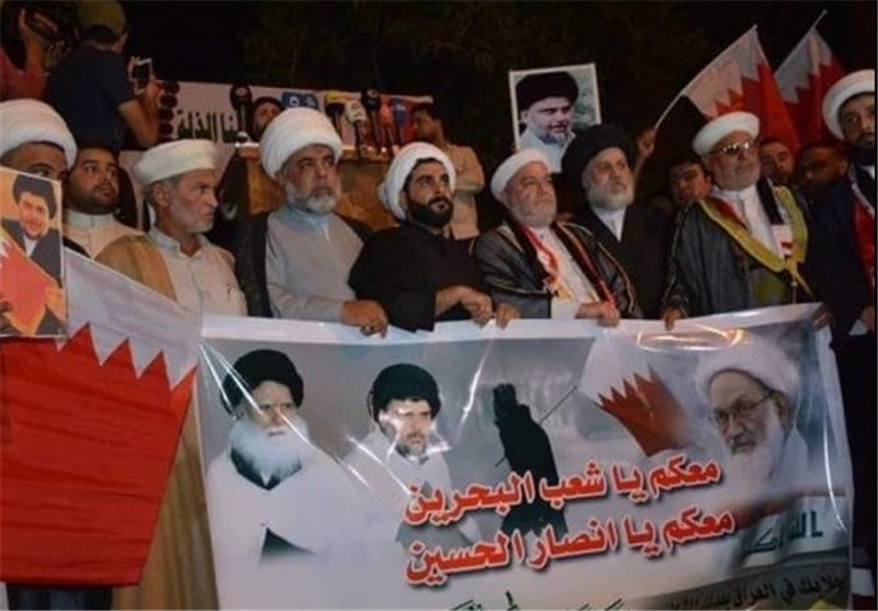 Photo of Iraqis Stage Rallies in Solidarity with Bahrain's Sheikh Qassim