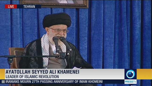 Photo of Leader of Islamic Ummah Imam Khamenei: Enemies pressuring revolutionary Iran
