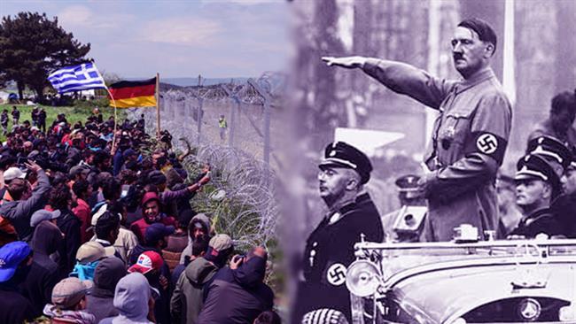 Photo of AfD rhetoric similar to that of Nazis: German vice chancellor