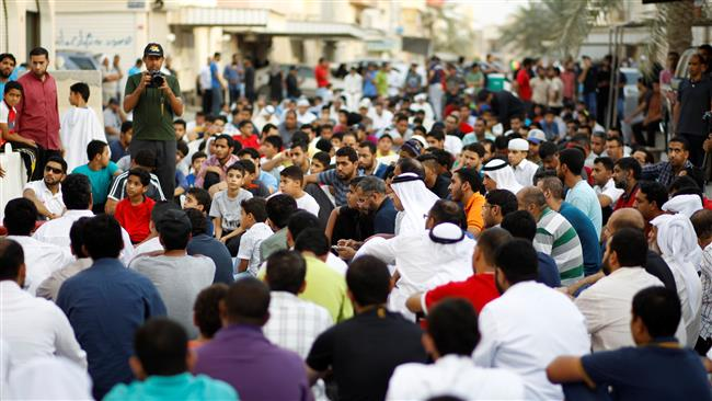 Photo of Bahrainis rally again to support top Muslim cleric