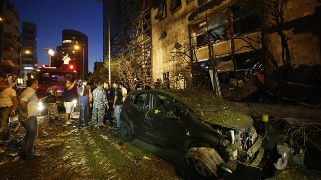 Photo of Bombing hits Lebanese capital, Beirut