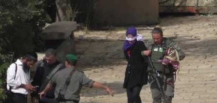 Photo of IOF kidnap two Palestinian women from the occupied Jerusalem