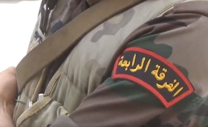 Photo of Syrian Army's elite 4th Division returning to Aleppo