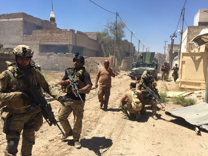 Photo of Iraqi Army secures Al-Shuhada District in southern Fallujah