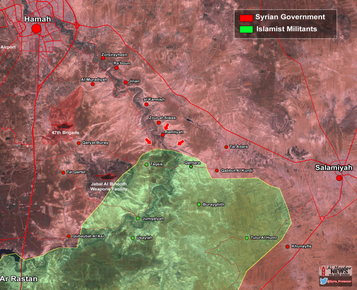 Photo of Syrian Army restores Ramliyah in east Hama – Map update