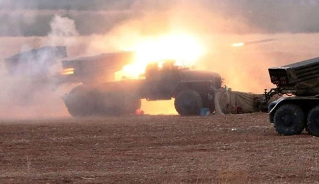 Syrian Forces Pound Heavily Terrorists' Positions in North of Aleppo: Battlefield Sources