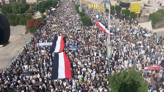 Photo of Yemenis slam zionist Saudi aggression, siege