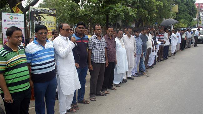 Photo of Bangladeshis condemn attacks on religious minorities