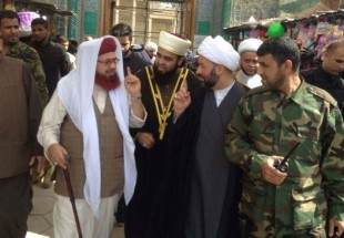 Photo of Iraqi cleric calls for unity prayer in Fallujah