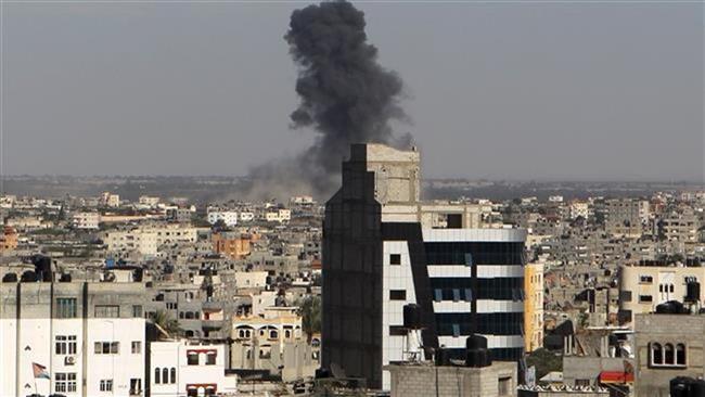 Photo of Terrorist israeli warplanes launch several airstrikes on Gaza Strip