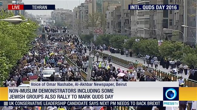 Photo of PHOTOS: Millions rally across world to mark Int'l Quds Day