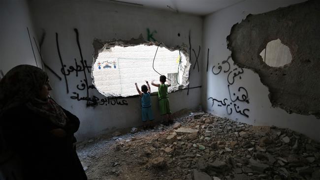 Photo of Terrorist Israeli regime forces demolish homes of two Palestinians