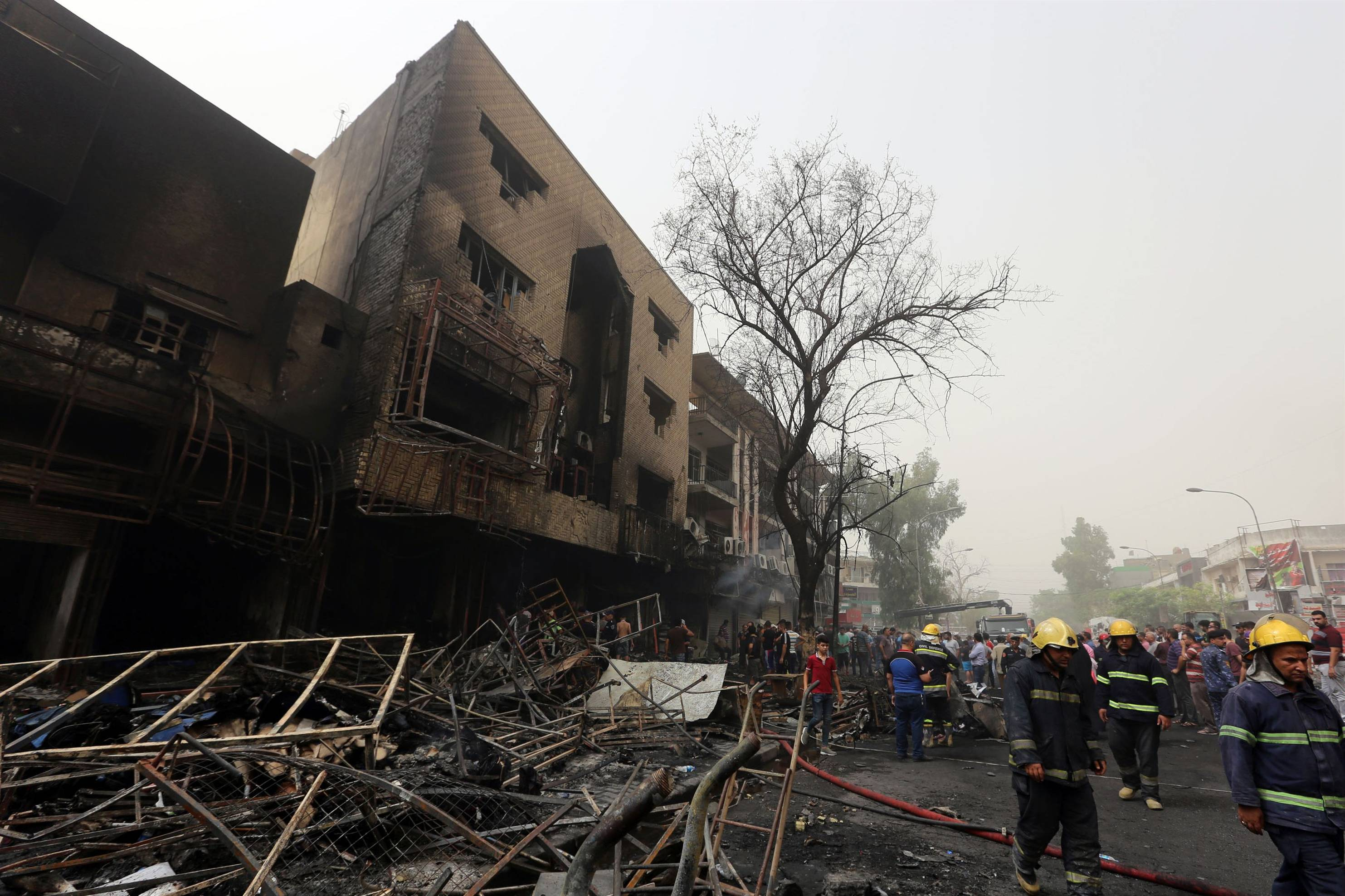 Photo of VIDEO: Baghdad Bombing Casualties Rise over 213 Killed, 200 Wounded