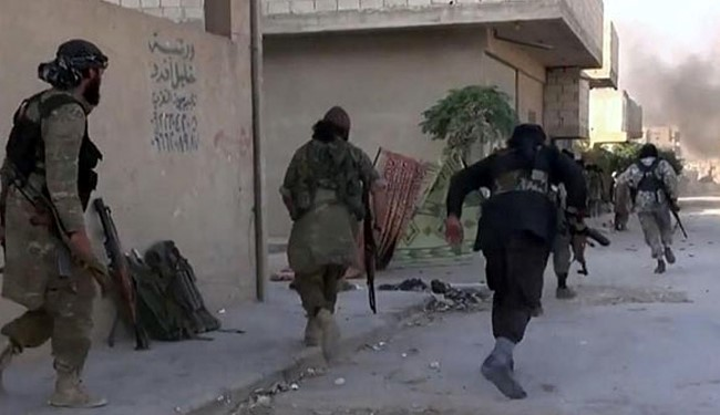 Al-Nusra Front Terrorists Pull out from Strategic Town in Damascus Countryside