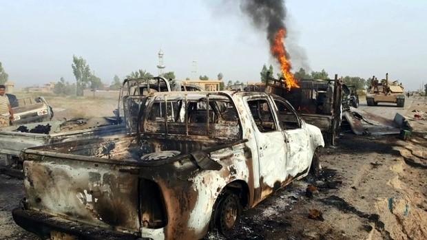Syrian Army Attacks in Sweida, Demolishes ISIS Military Convoy Badly