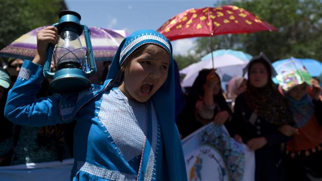 Photo of Kabul in lockdown as Hazaras protest powerline