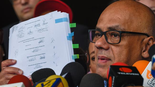 Photo of Venezuela govt. asks electoral body to ban recall vote