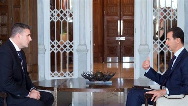 Photo of Assad: West attacks us politically, deals with us secretly