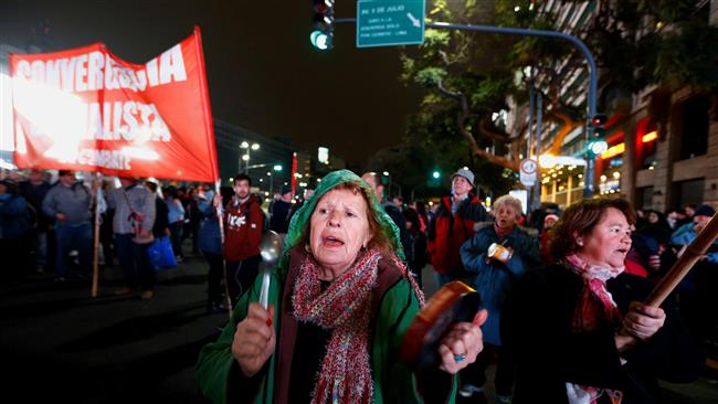 Photo of Thousands of Argentines protest energy price hikes
