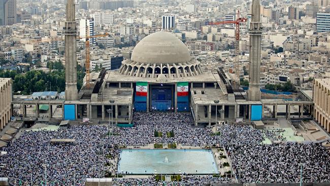 Photo of PHOTOS: World Muslims mark Eid al-Fitr