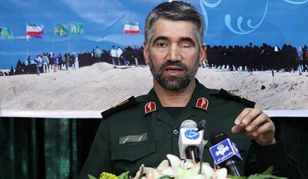 """Photo of Commander Dismisses Israeli Rumors about General Naqdi's Injury in Syria as """"Psychological"""" War"""