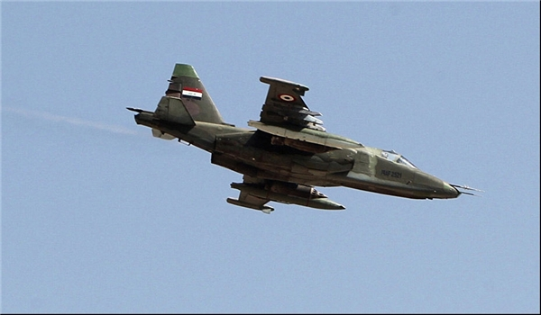 Photo of Iraqi Air Force Destroys ISIL's Financial Center in Anbar Province, Kills Top Commander