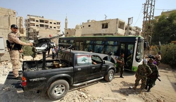 Photo of Syrian Army Takes Control of Darayya in Southwestern Damascus