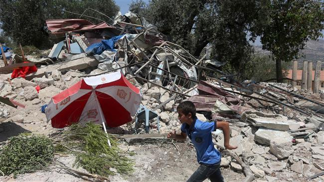 Photo of Terrorist israel demolishes nine more Palestinian structures in West Bank