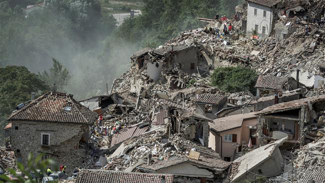 Photo of Death toll from massive quake in central Italy soars to 247