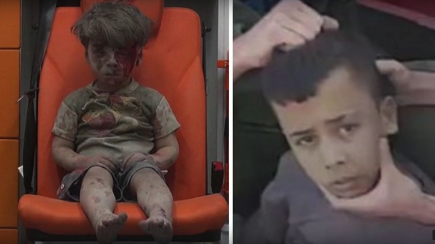 Photo of Between #Syrianboy Abdullah Issa and #OmranDanqeesh… Media Bias?