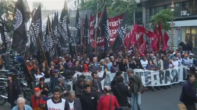 Photo of Buenos Aires protesters slam high prices, low wages