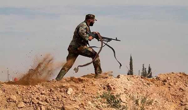 Photo of Syrian Army Repels Terrorists' Attacks in Eastern Damascus