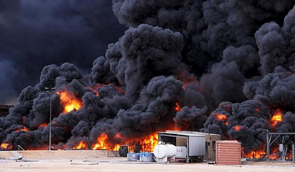 Photo of More ISIL Fuel Tankers Blown Up in Sweida