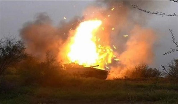 Photo of Yemeni Army Destroys Saudi Arabia's Spying Aircraft, Military Vehicle in Najran Province