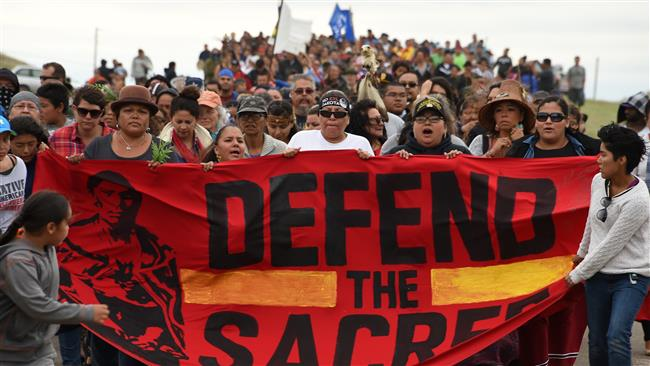 Photo of Native Americans 'disappointed' at judge's ruling on Dakota pipeline