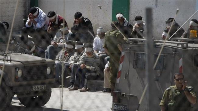 Photo of Palestinians mistreated in zionist Israeli prison: Lawyer