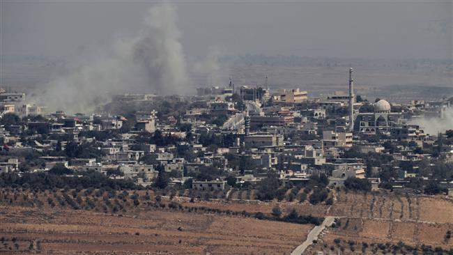 Photo of Israel attacks Syrian military positions in Golan Heights