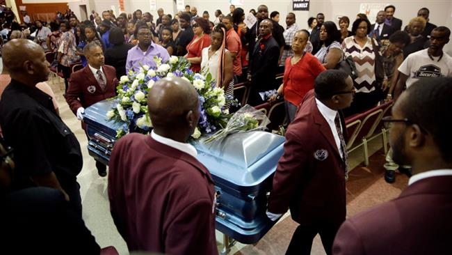 Photo of Funeral held for black man killed by police in Oklahoma