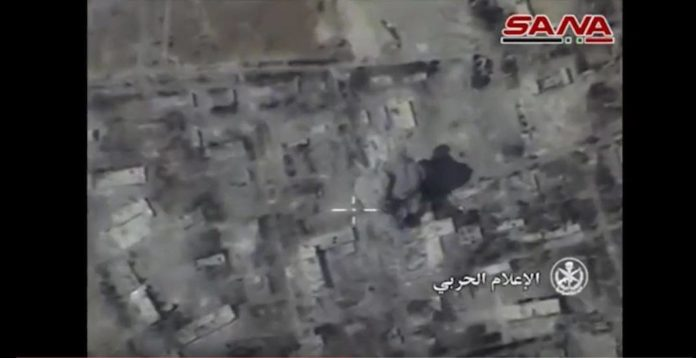 Photo of In Video: Syrian Army launches aerial campaign to recapture Ramouseh