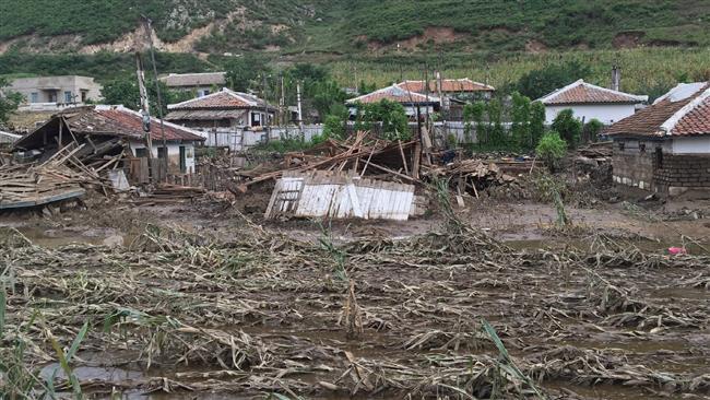 Photo of Floods hitting North Korea 'worst' since WWII: KCNA