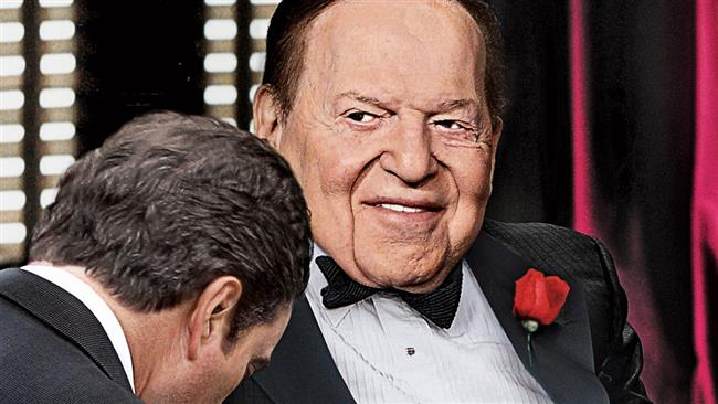 Photo of US zionist Adelson to spend $45 million to help Trump win election