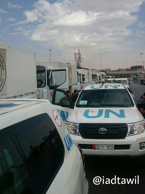 Photo of Humanitarian aid reaches besieged Syrian cities