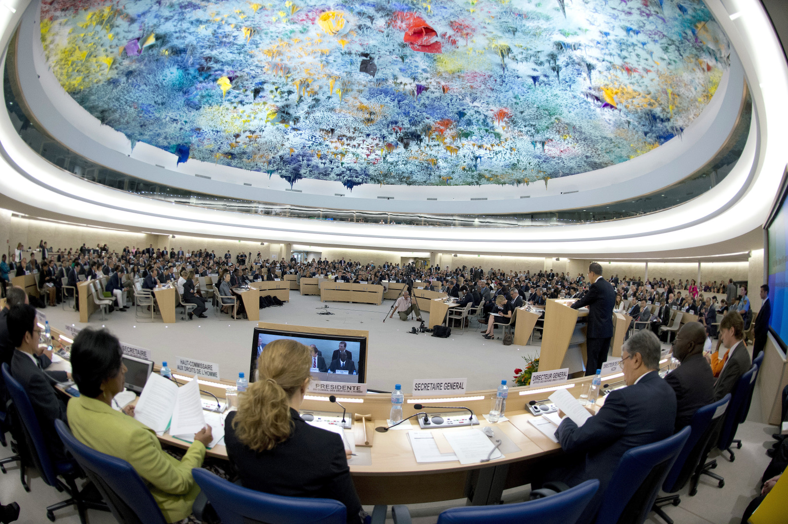 Photo of HRC: 35 States Condemn Bahrain Measures against Opposition, Call for Comprehensive Reforms