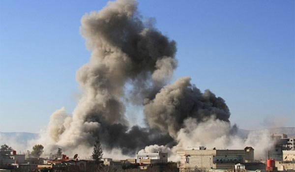 Photo of Syrian Army Blows Up Terrorists' Arms Cache Near Aleppo's Kuweires Airbase
